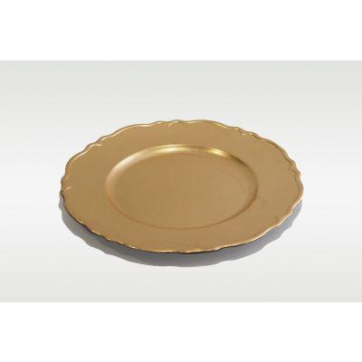 charger plates, plastic plates, dinner plates, plastic food plates, hard plastic dinner plates, gold charger plates, ถาดเสริฟ, ถาดเสิร์ฟ, ถาดรองจานอาหาร, แผ่นรองจานอาหาร, ที่รองจานข้าว, ถาดอาหาร